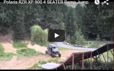 Polaris-RZR-XP-900-4-SEATER-Ramp-Jump