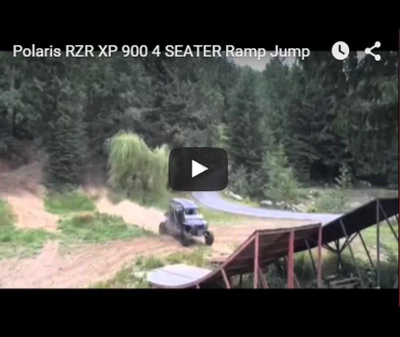 Polaris-RZR-XP-900-4-SEATER-Ramp-Jump