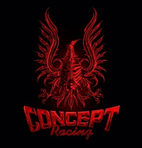 concept racing red