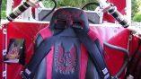 357 Race 1 seater inside TS seat harness