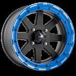 starfighter_dwt_douglas_wheel_sxs_utv_matte_black_14_15_inch_blue_beadlock_rim_canam_polaris_yamaha_yxz_rzr_x3_1k_racing