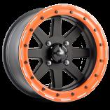 starfighter_dwt_douglas_wheel_sxs_utv_matte_black_14_15_inch_orange_beadlock_rim_canam_polaris_yamaha_yxz_rzr_x3_1k_racing