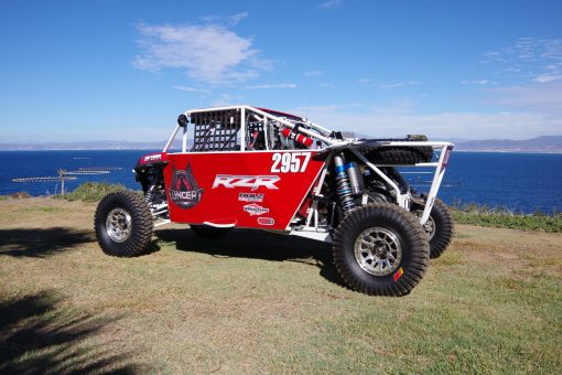 baja 4 seat chassis side close